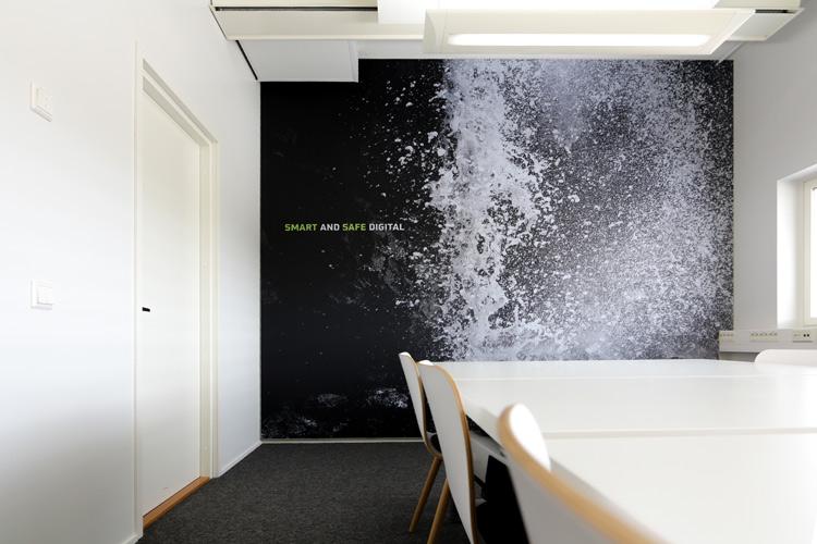 AKUprintti Darkmatter Oulu seinäakustiikka oma kuva